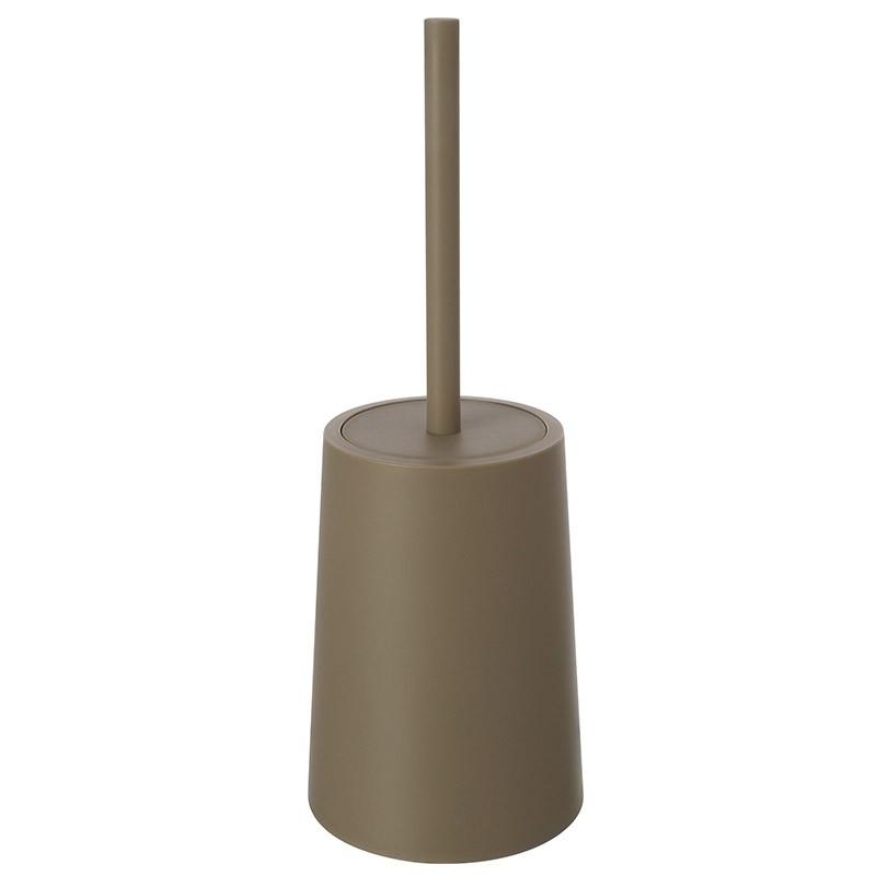 Portascopino Da Appoggio Per WC Tortora Per Bagno Moderno