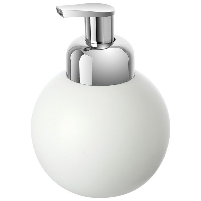 Dispenser Sapone in Ceramica Bianco Linea Oslo
