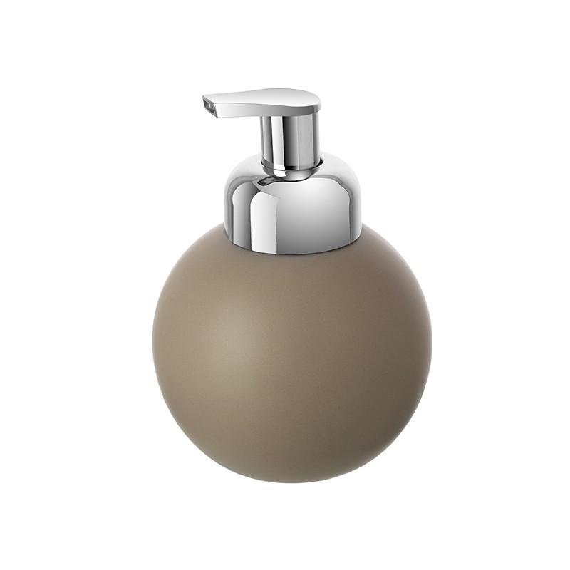 Dispenser Ceramica Tortora Portasapone Per Arredo Bagno