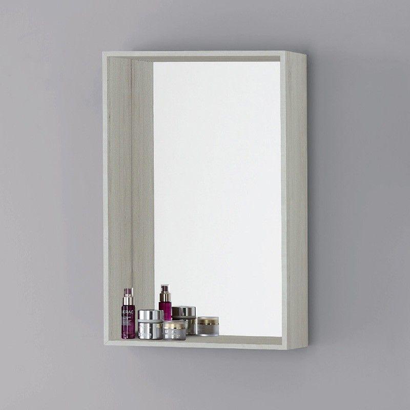 Specchiera Contenitore 70 x 45 Cm Color Pino Bianco