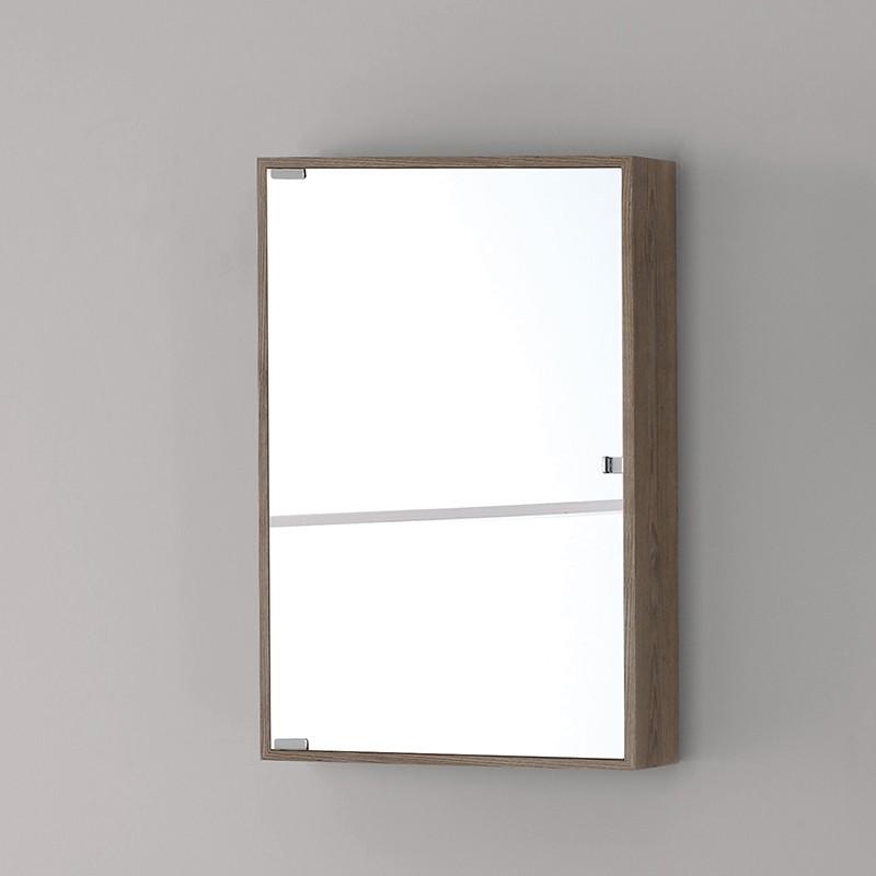 Specchiera PVC 45x70 Castano Chiaro Linea Over Feridras