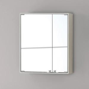 Specchiera PVC con ante 60x70 Pino Bianco Linea Over Feridras