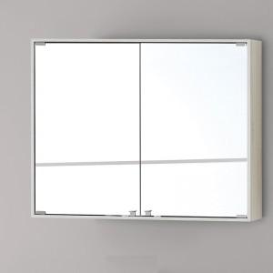 Specchiera PVC con Ante 90x70 Pino Bianco Linea Over Feridras