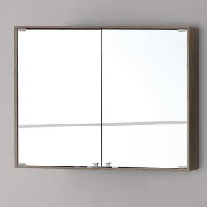 Specchiera PVC con Ante 90x70 Castagno Chiaro Linea Over Feridras
