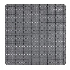Tappeto Antiscivolo in PVC Mosaico Grigio