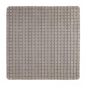 Tappeto Antiscivolo in PVC Mosaico Tortora