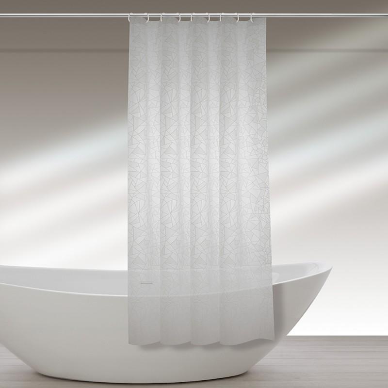 tenda doccia con ganci in vinile 187060
