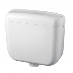 Cassetta WC a Zaino con Galleggiante Bianco Negrari