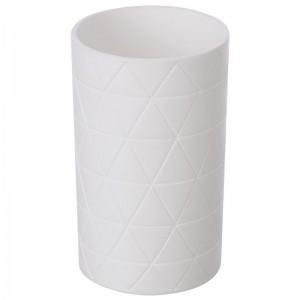 Portaspazzolino in ABS Bianco Linea Diva