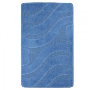 Parure Bagno 3 Pezzi Color Azzurro