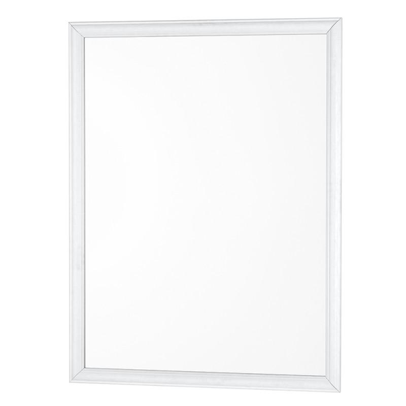 Specchio con Cornice ABS Bianca 46x56 cm Arredo Moderno