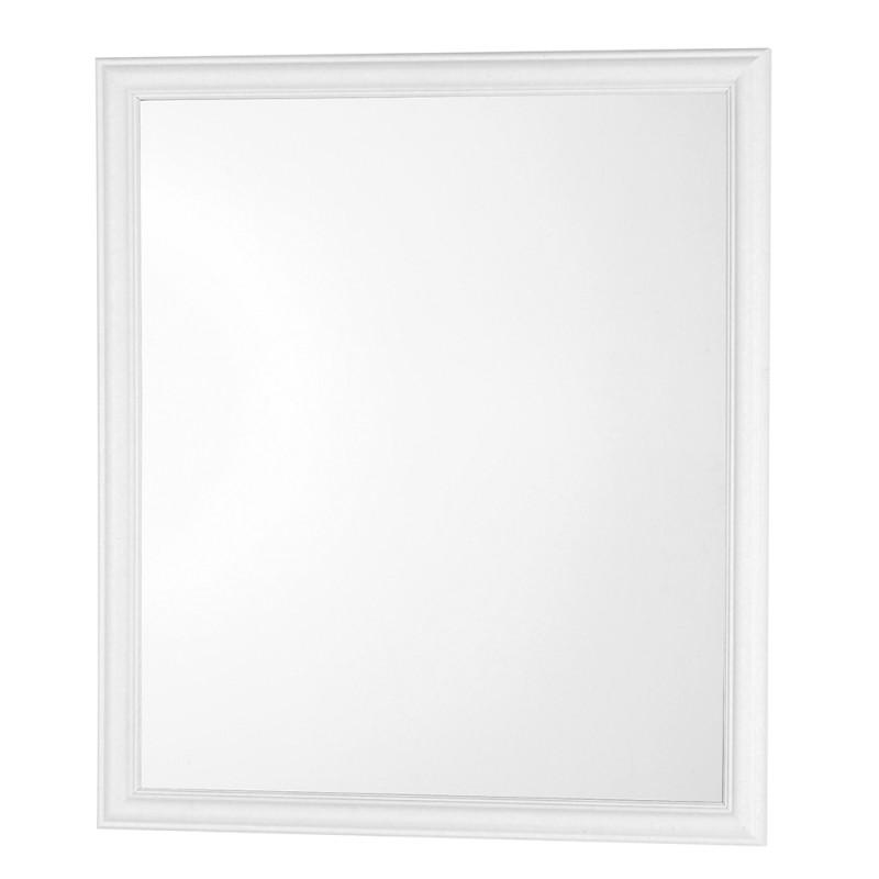 Specchio Con Cornice ABS Bianca 56x66 Cm Arredo Moderno
