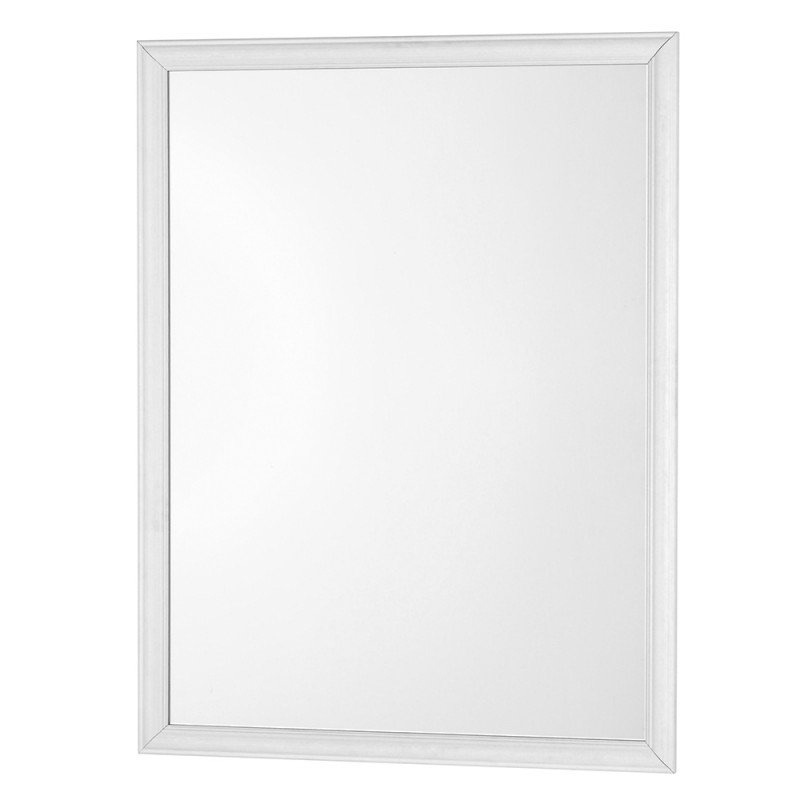 Specchio Rettangolare con Cornice in Abs