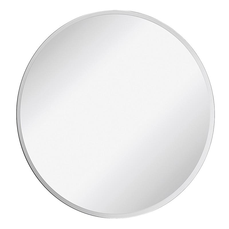 Specchio Tondo con Bisellatura di 2,5 cm