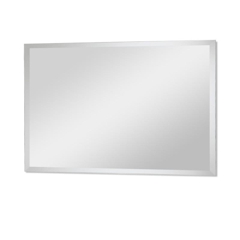 Specchio con Bisellatura 100x60 Montaggio Reversibile