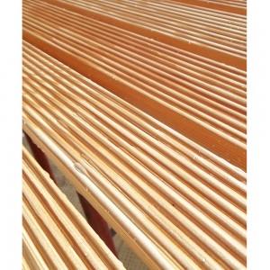 pedana in legno ad angolo