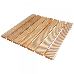pedana in legno per doccia