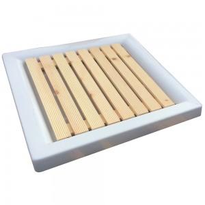 pedana doccia per piatto quadrato