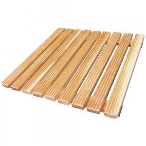 pedana per doccia in legno