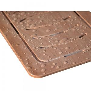Pedana in legno per doccia slim