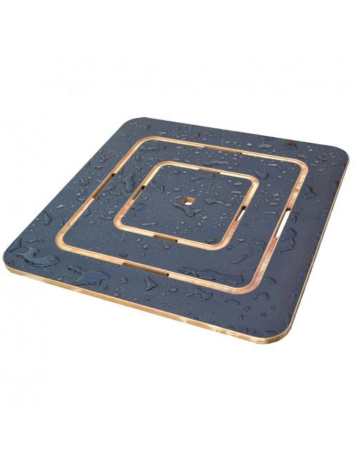 Pedana Doccia 60x60 Compensato Marino Supergrip C.M. per piatto doccia 80x80
