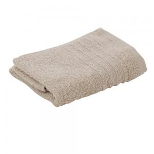 Asciugamani Ospiti Da Bagno 40x60 Cm In Morbido Cotone Sabbia