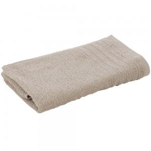 Asciugamano Viso Da Bagno 55x100 Cm In Morbido Cotone Sabbia
