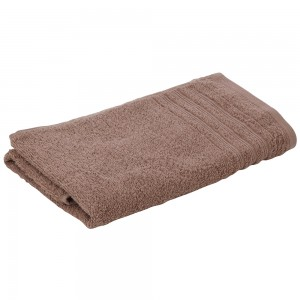 Asciugamano Viso Da Bagno 55x100 Cm In Morbido Cotone Tortora