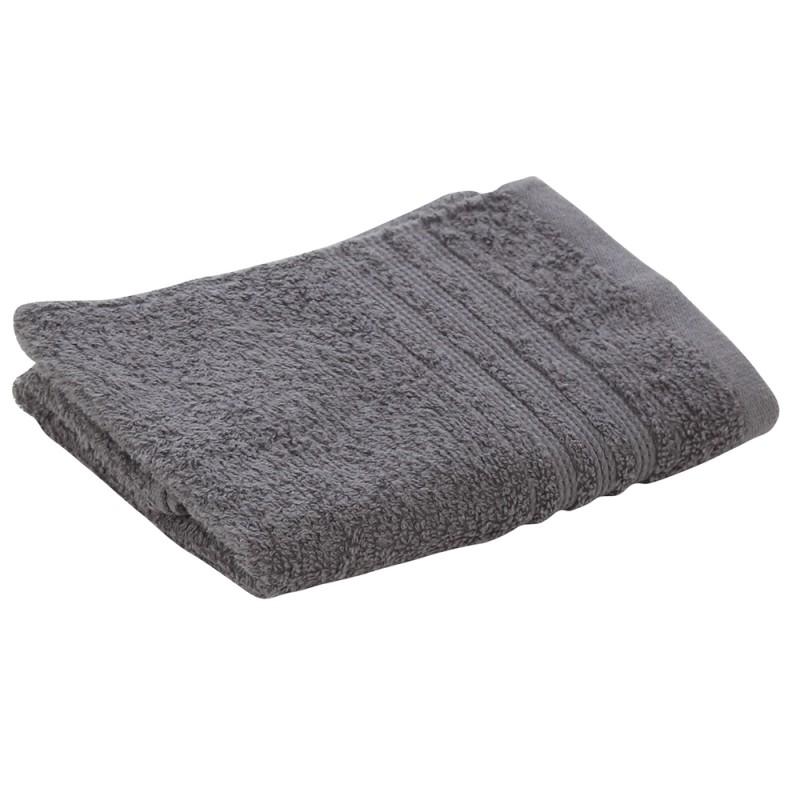 Asciugamani Ospiti Da Bagno 40x60 Cm In Morbido Cotone Grigio