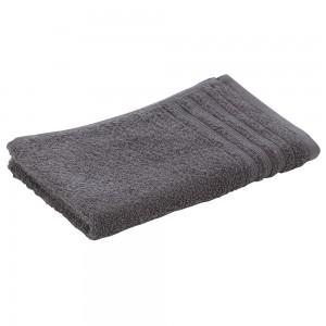 Asciugamano Viso Da Bagno 55x100 Cm In Morbido Cotone Grigio