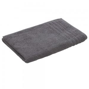 Telo Doccia in 100% Cotone in colore grigio 90x140 cm