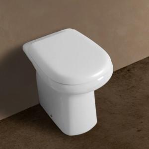 Vaso a Pavimento Rak serie Orient colore Bianco Rak Ceramiche - 1