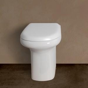 Vaso a Pavimento Rak serie Orient colore Bianco Rak Ceramiche - 3