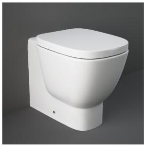 Water Filomuro Bianco di Rak Ceramiche serie One