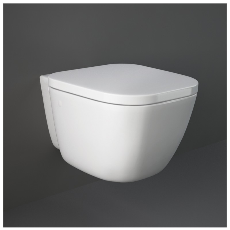 Vaso Sospeso Rak Ceramiche serie One ceramica Bianco