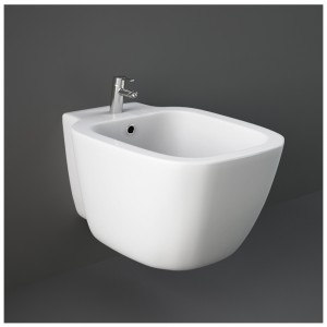 Bidet Sospeso Bianco di Rak Ceramiche serie One