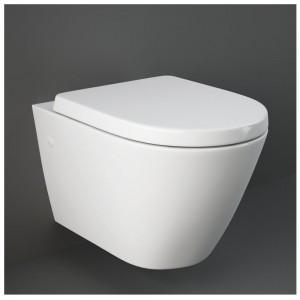 Vaso Sospeso RAK CERAMICHE serie RESORT in ceramica Bianco