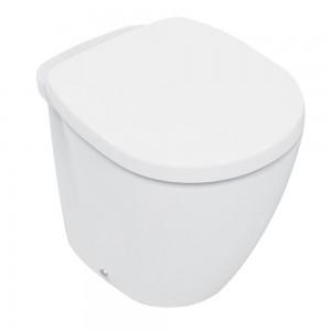Vaso a Pavimento Ideal Standard serie Connect con Coprivaso Bianco