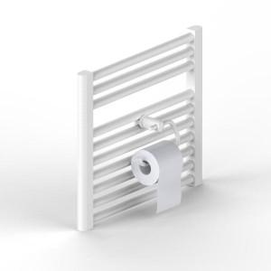 porta salviette per termoarredo bianco moderno