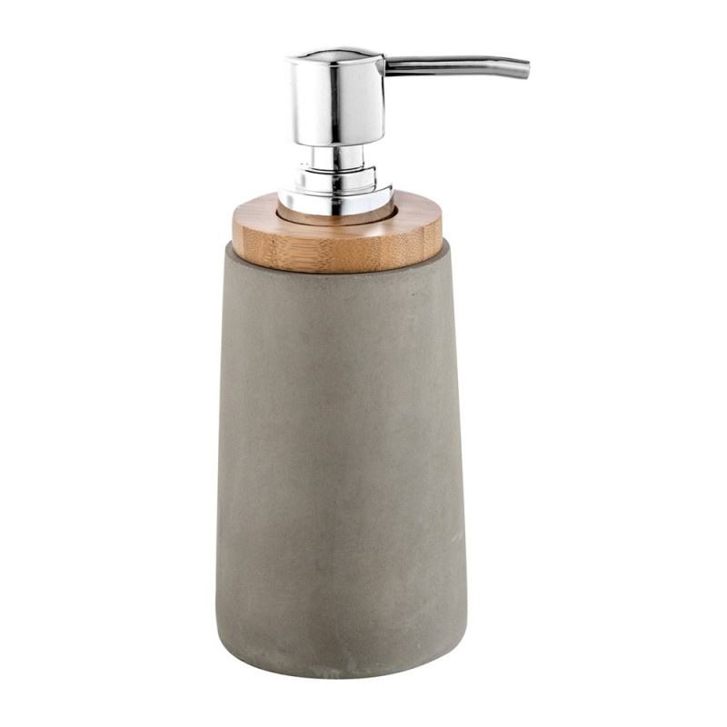 dispenser sapone grigio in resina