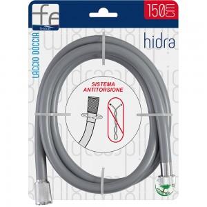 Laccio doccia flessibile silver in PVC 150 cm