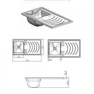 mobile coprilavatrice da esterno