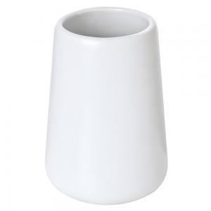 porta spazzolino bianco ceramica