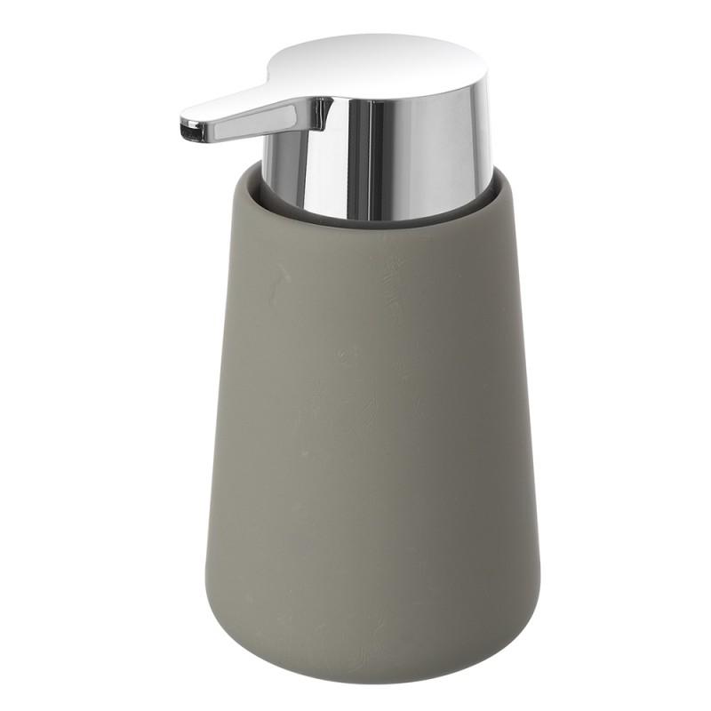 Dispenser Sapone Ceramica Grigio Arredo D'Appoggio