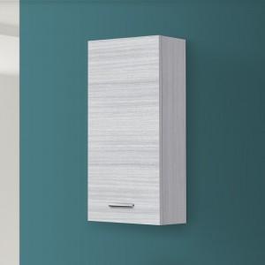 Pensile Bagno Moderno Grigio 35x70 Cm 1 Anta Reversibile