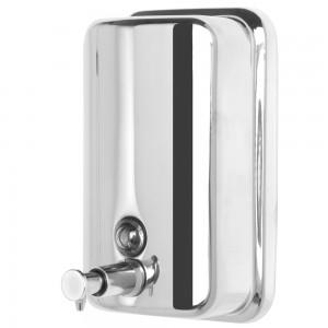 Dispenser Sapone da Muro in Acciaio 800 ml Linea Facile
