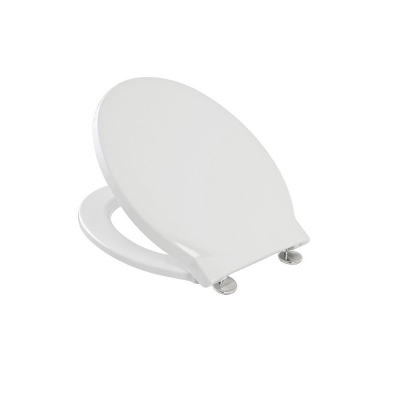 Sedile Copriwc per DOLOMITE dedicato Linea QUARZO in Termoindurente Bianco