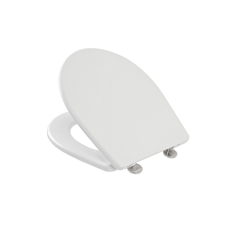 Copriwater Compatibile Vaso Globo serie Arianna in Termoindurente Bianco
