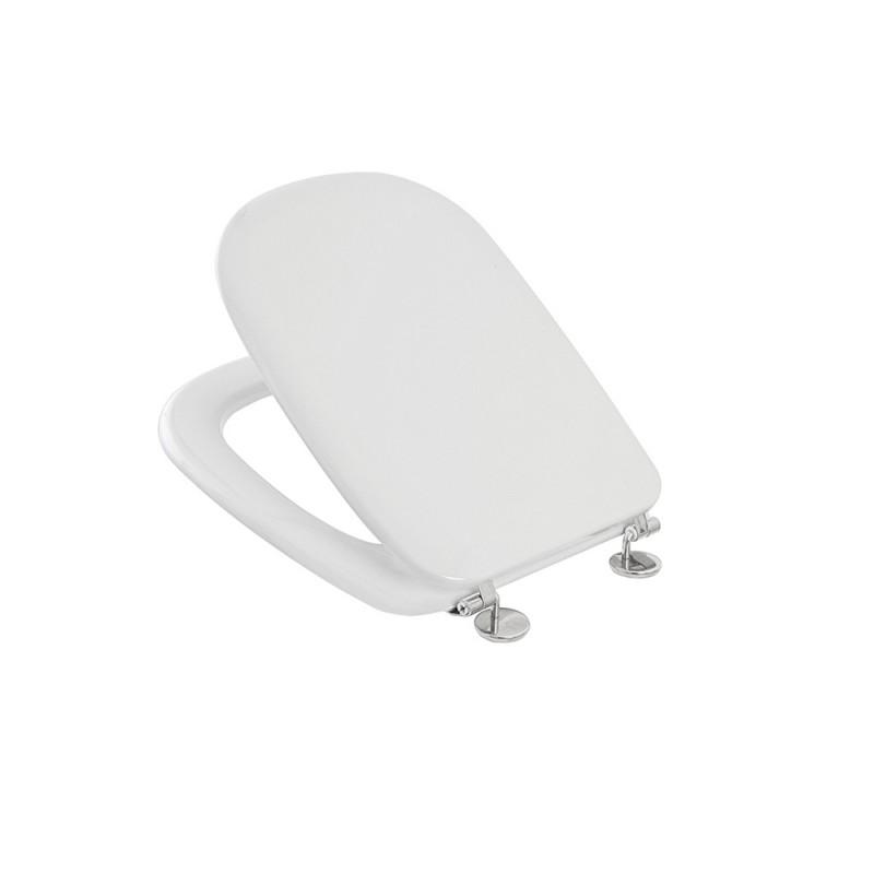 Sedile WC per Vaso VINCENTI serie CURVA in Termoindurente Bianco