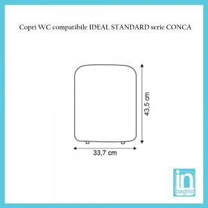 tavoletta conca ideal standard